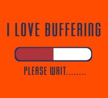 Buffering Please Wait T-shirt - Application File Loading Kids Clothes