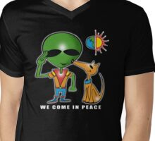we come in peace Mens V-Neck T-Shirt