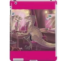 She Stared at Herself in Raptor iPad Case/Skin