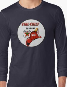 Texaco Fire Chief Long Sleeve T-Shirt