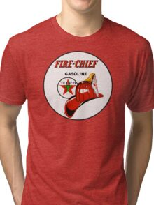 Texaco Fire Chief Tri-blend T-Shirt