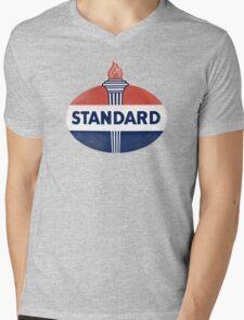 Standard Oil Mens V-Neck T-Shirt