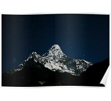 Ama Dablam and the Pleiades Poster
