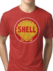 Shell retro Tri-blend T-Shirt