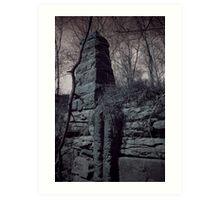 Ruins Base Art Print
