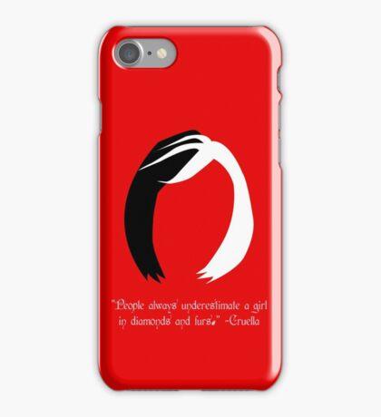 Cruella Quote - OUAT iPhone Case/Skin