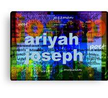 ariyah joseph Canvas Print