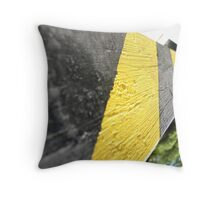 Caution! You're Upside Down Throw Pillow