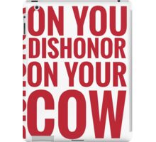 DISHONOR! iPad Case/Skin
