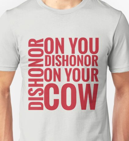 DISHONOR! Unisex T-Shirt