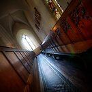 Cathedral Pews by Alan McMorris