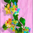 apple tree flowers  by Anatoliy