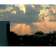 Sundown - Israel Photographic Print