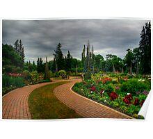 English Gardens Poster