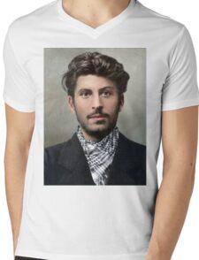 19XX Style Mens V-Neck T-Shirt