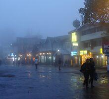 Foggy Darjeeling.. by Souvick Mazumder