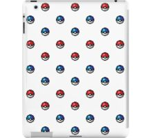 Pokeball Pixel Art Pattern  iPad Case/Skin