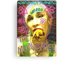 The Munchies Canvas Print