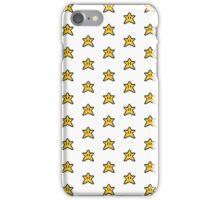 Super Mario Star Leggings Pattern iPhone Case/Skin
