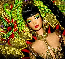 China Doll by Vanessa Barklay