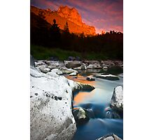 Smith Rock Gorge Photographic Print