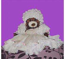 Teddy Bear Dress Up Photographic Print