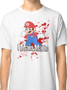 I Main Mario - Super Smash Bros. Classic T-Shirt