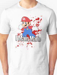 I Main Mario - Super Smash Bros. T-Shirt