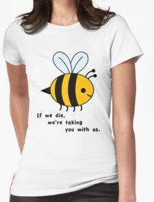 Sacrificial Bees Womens Fitted T-Shirt