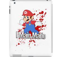 I Main Mario - Super Smash Bros. iPad Case/Skin