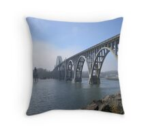 Yaquina Bay Throw Pillow