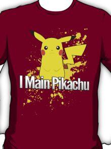 I Main Pikachu - Super Smash Bros. T-Shirt