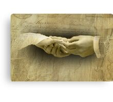 With this Ring... Canvas Print