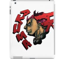 AKUMA STREET FIGHTER iPad Case/Skin