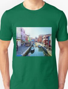 A View of Burano Unisex T-Shirt
