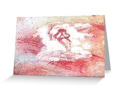 Ghostface in the Clouds Greeting Card