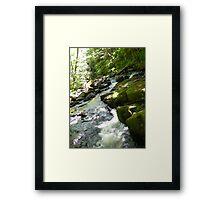 Skewed Earth Framed Print