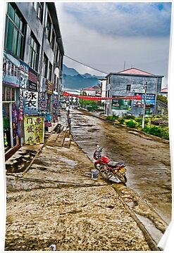 little town in China by marcwellman2000