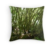 Mossy Tendrils Throw Pillow