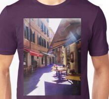 An Italian Café in the Heart of Venice  Unisex T-Shirt