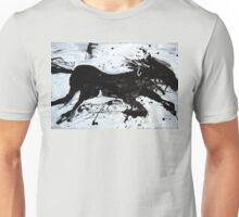 Black Horse 2 Unisex T-Shirt