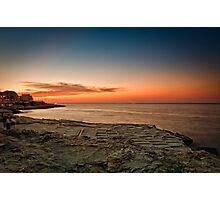 Maltese Sunset Photographic Print