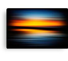 Speed Sunrise 2 Canvas Print
