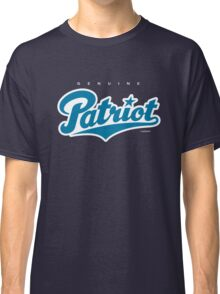 GenuineTee - Patriot (blue/white) Classic T-Shirt