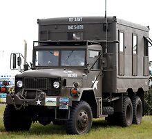 U S Truck by Tony Dewey