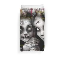 zombie girls Duvet Cover