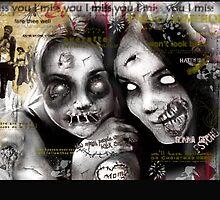 zombie girls by yvonne willemsen