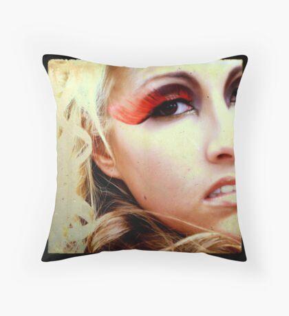 60's Goddess Throw Pillow