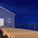 Crawley Edge Boatshed Panorama  by EOS20