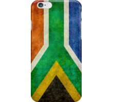 National flag of the Republic of South Africa iPhone Case/Skin